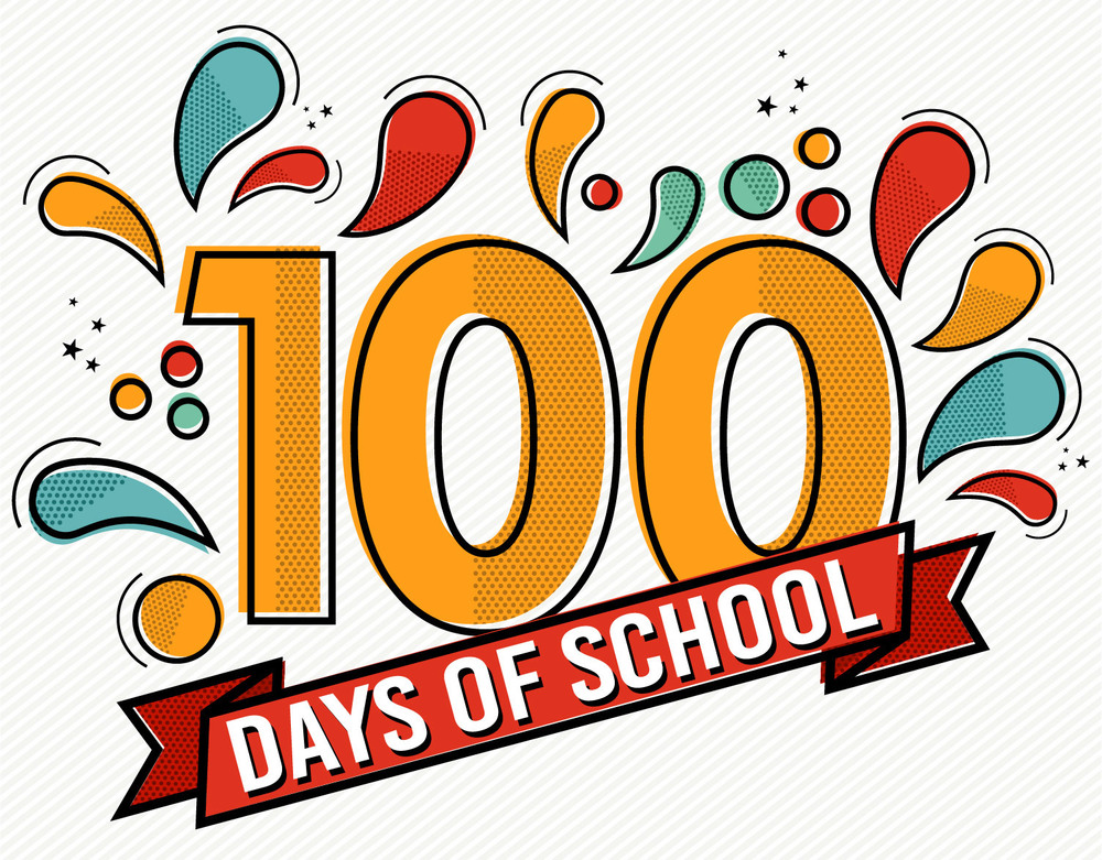 1st Grade Celebrates 100 Days of School