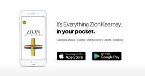 Zion has a new App and Website!
